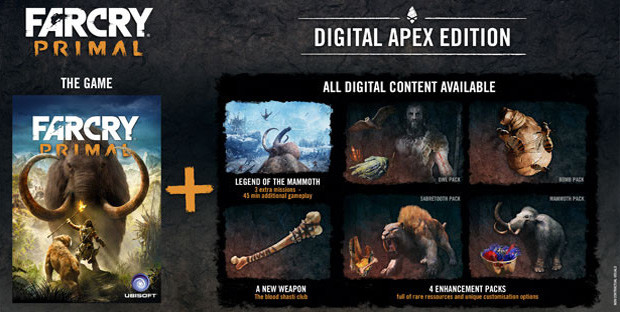 Far Cry Primal Digital Apex Edition Uplay Cd Key For Pc Buy Now