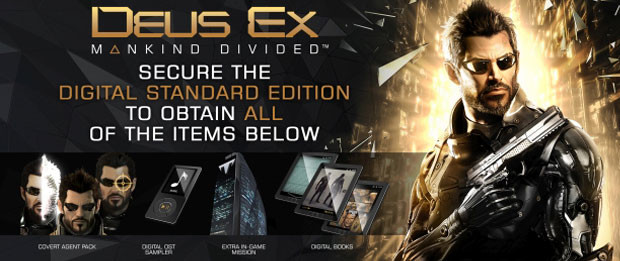 Deus Ex: Mankind Divided [Steam CD Key] for PC - Buy now ...