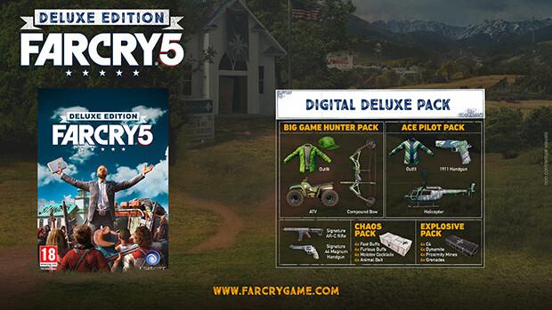 Far Cry 5 - Standard/Deluxe/Gold Version Comparison - FAQ