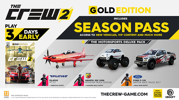 The Crew 2 - Gold Edition [Uplay Ubisoft Connect] for PC - Buy now