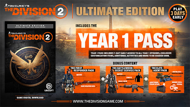 Tom Clancys The Division 2 Ultimate Edition Uplay