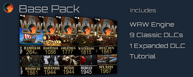 Wars Across The World bas pack