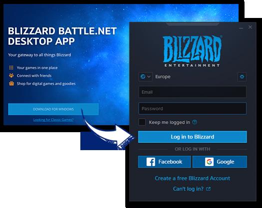 Activations » Activation through Battle net